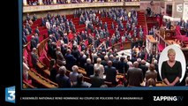 Magnanville - Attentat d'Orlando : Une minute de silence à l'Assemblée nationale en hommage aux victimes (Vidéo)