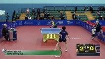 2016 Australian Open Highlights: Zhang Ziyu vs Chao Jiaming (Qual)