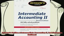favorite   Schaums Outline of Intermediate Accounting II 2ed Schaums Outlines