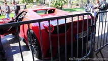 Mansory Ferrari 458 Spider SCARY Ride and Revs