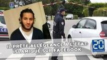 Policiers tués dans les Yvelines: Larossi Abballa avait prêté allégeance à l'État Islamique sur Facebook