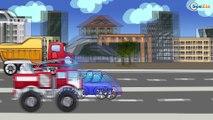 ✔ Dessins animé voiture. Voiture de police pour enfants. Tiki Taki  Dessins Animés ✔