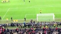 Liverpool Fans Fighting Sevilla Hooligans at Liverpool v  Sevilla 21 Before the UEFA Cup Finale 2016