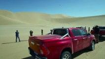 Toyota Hilux Namibia - Driving Video - Dune Dakar Hilux