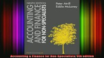 READ book  Accounting  Finance for NonSpecialists 9th edition Full Free