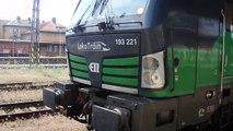 Nákladní vlak Loko Train Vectron směr Pardubice