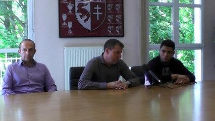 FC Metz - Présentation Simon Falette