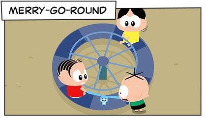 Merry-Go-Round (T03E09) | Mônica Toy