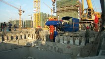 BEIYI sheet pile hammer hydraulic pile extractor vibrate pile pulling machine for all H sheet pile 2
