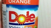 ORANGE JUICE GONE WRONG! WHAT IS REALLY IN DOLE ORANGE JUICE??
