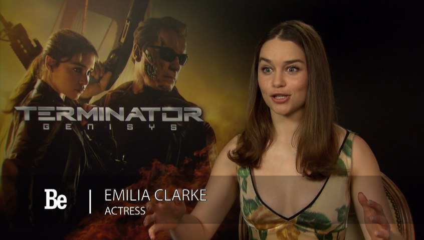 Interview: Emilia Clarke for Terminator Genisys