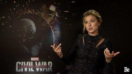 Captain America: Emily Vancamp's Interview