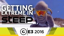 Paragliding, Skiing, and Snowboarding Reactions in Steep - E3 2016