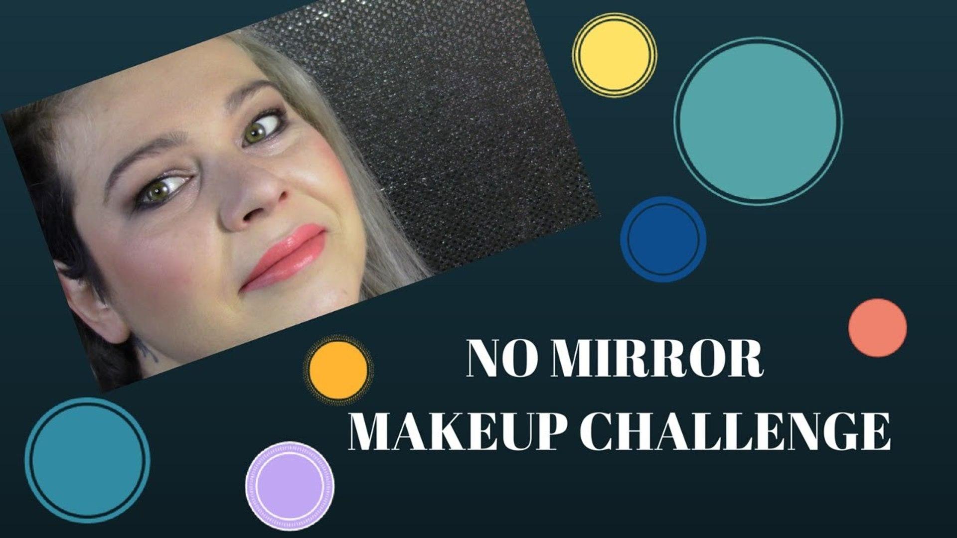 #30giorniconme #6 - NO MIRROR MAKEUP CHALLENGE!