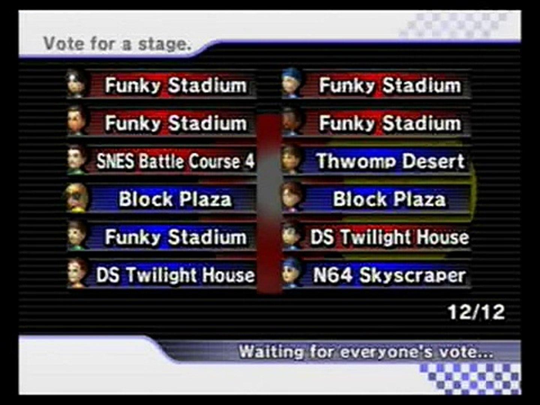 Funky Stadium Coins Mario Kart Wii 2 Video Dailymotion