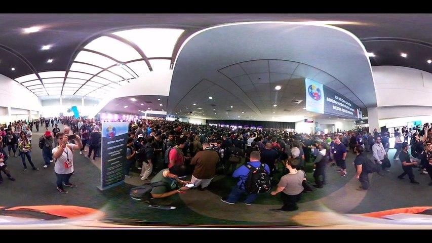 E3 2016 Apertura de puertas en 360