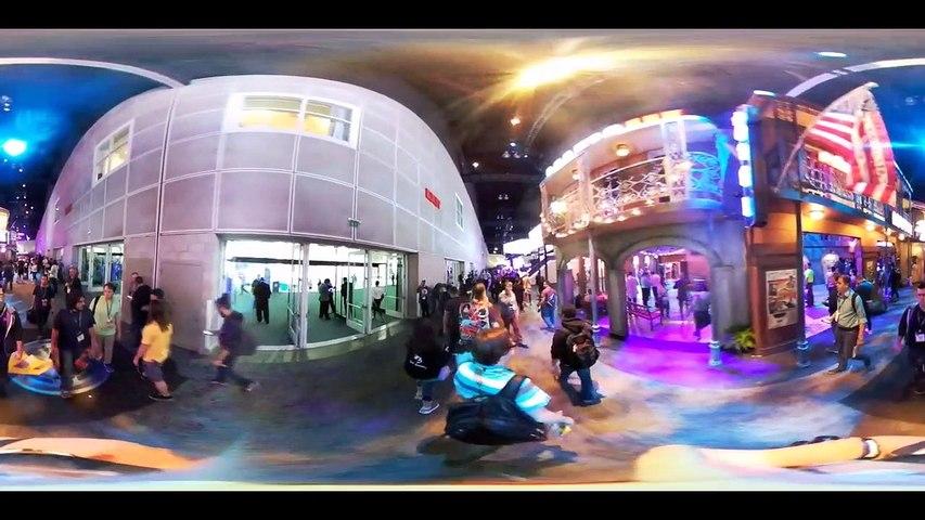 E3 2016 Recorremos el South Hall en 360