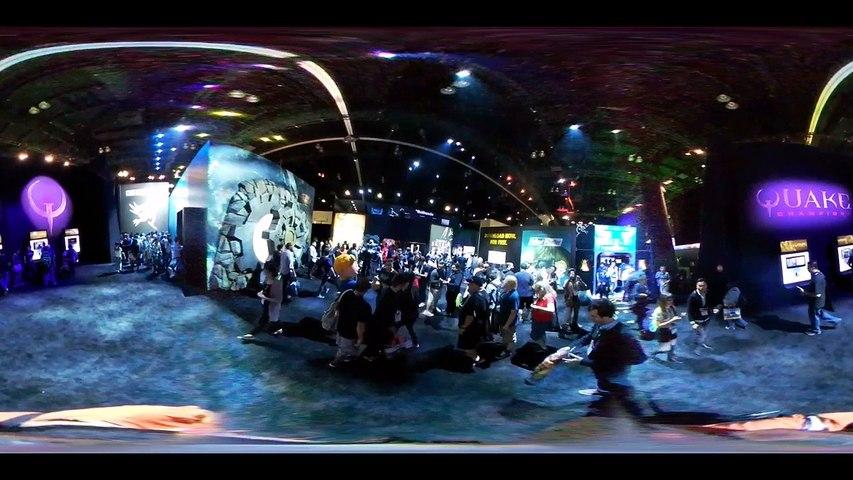 E3 2016 Stand de Bethesda en 360
