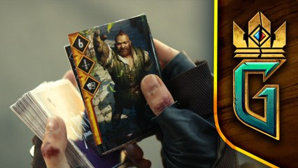 GWENT  THE WITCHER CARD GAME - Announcement Trailer