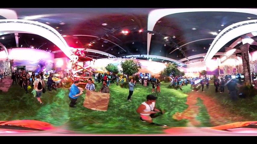 E3 2016 Stand de Nintendo en 360