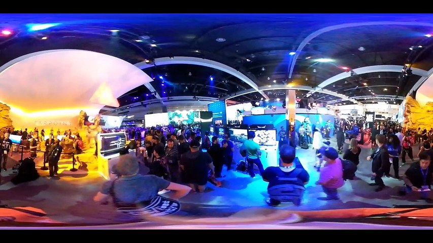 E3 2016 Stand de Sony en 360