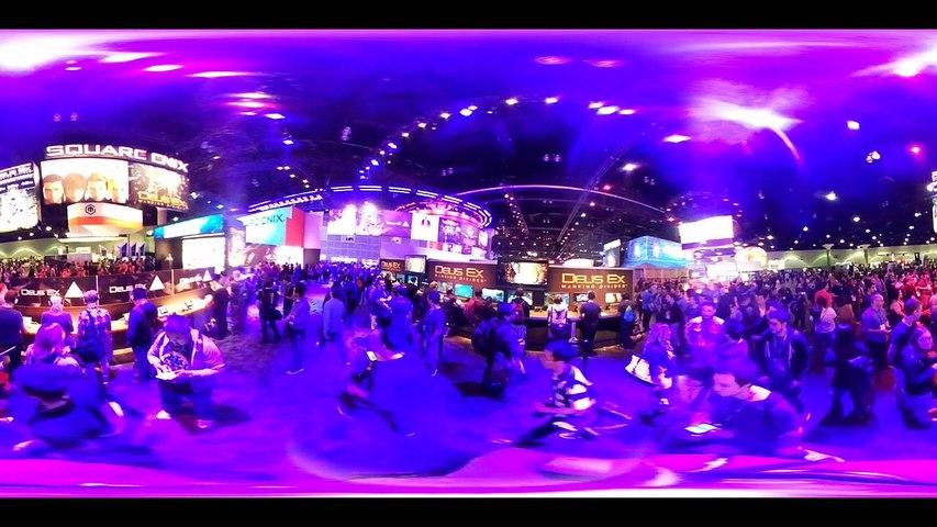 E3 2016 Stand de Square Enix en 360
