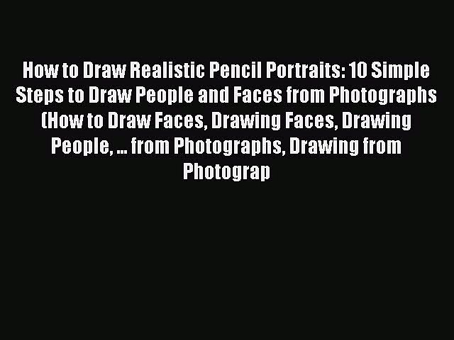 pencil portrait mastery - pencil drawings of people