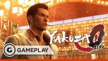 20 Mins of Kamurocho Brawler Gameplay - Yakuza Zero