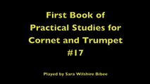 Getchell Hovey First Book of Practical Studies for Cornet or Trumpet #17