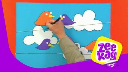 Birds on a String Make! | Mister Maker | ZeeKay Junior