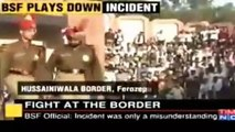 Fight At Wagah Border Between Pakistani Solider and Indian Army Solider-x36q0wj