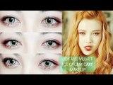 JOY 박수영 Ice Cream Cake Red Velvet 레드벨벳 Makeup Tutorial