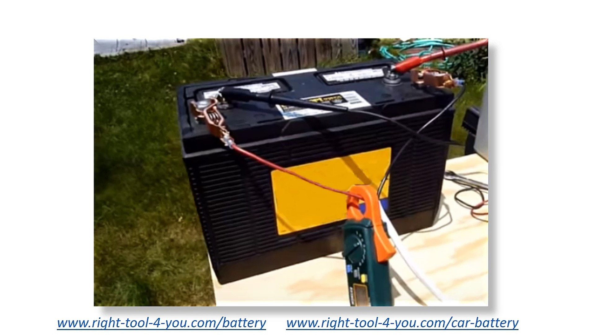 How to Revive a Dead Car Battery, Reconditioning Batteries DIY