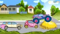 ✔ Kamyonun maceraları çocuklar için / Arabalar hakkında çizgi filmlerinin koleksyonu / Bölüm 3 ✔
