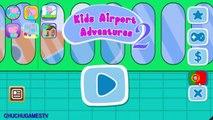 Peppa Pig en Francais |Jeux pour les enfants Peppa Pig | Aventures Aéroport enfants | ChuChu GamesTV