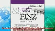 best book  Strategies  Tactics for the FINZ Multistate Method Emmanuel Bar Review Emanuel Bar