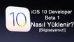 iOS 10 Nasıl Yüklenir? [Bilgisayarsız]