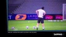Euro 2016 : Joachim Löw, l'entraîneur de l'Allemagne, se gratte encore les fesses et sent ses doigts (Vidéo)