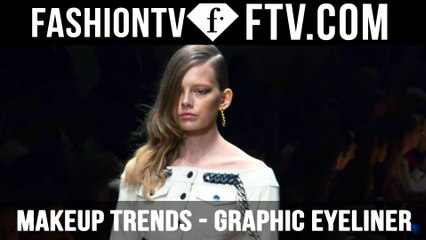 Makeup Trends Spring/Summer 2016 Graphic Eyeliner   FTV.com