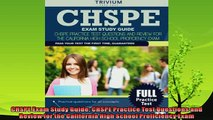 read now  CHSPE Exam Study Guide CHSPE Practice Test Questions and Review for the California High