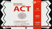 read now  ACT Reading Practice Book Advanced Practice Series Volume 5