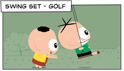 Swing Set- Golf (T03E06) | Mônica Toy