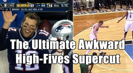 The Ultimate Awkward High-Fives Supercut