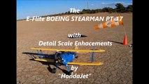 E-FLITE BOEING STEARMAN PT-17 AT YDBY