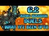 Evylyn - 6.2 Arms Warrior Dueling commentary + what iv'e been upto WOW WOD PVP duels