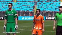 Pronostico Lazio Udinese del 25 Settembre 2014 giocato a Fifa 14 Playstation 4