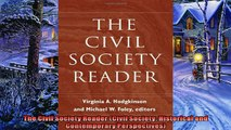 Enjoyed read  The Civil Society Reader Civil Society Historical and Contemporary Perspectives