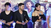 Jacqueline Fernandez Faces OOPS Moment at Dishoom Trailer Launch Jacqueline Fernandez Faces OOPS Moment at Dishoom Trail