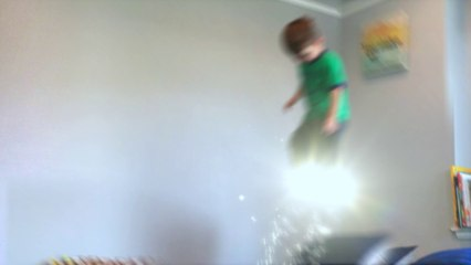 Boy Uses Magic To Fly Around HIs Room | Van The Man | FXated