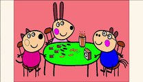 #Peppa Pig #Coloring  Coloring #Book  Coloring Pages  Learn Colors #page  3